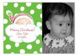 Santa Smiles Photo Postcard