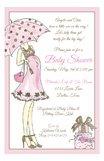 Sassy Momma Pink Invitation