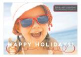 Sassy Stripe Holiday Photo Card