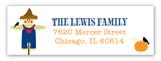 Scarecrow Address Label