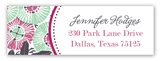 Sea Anemone Address Label