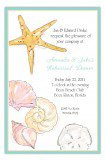 Seashells Collection Nautical Rehearsal Dinner Invitations