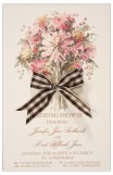 Sepia Bouquet Invitation