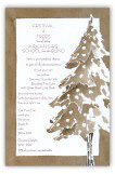 Sepia Tree Invitation