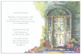 Shaded Entry Invitation