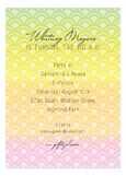 Sherbet Sunset Invitation