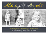 Shining Bright Collage Photo Card