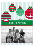 Ships Ahoy Holiday Photo Card