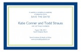 Simply Navy Border Invitation