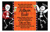 Skeletons and Spooktails Invitation