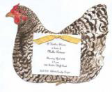 Hen Invitation