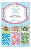 Sleep Over Kids Slumber Party Invitations