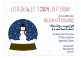 Snow Globe Fun Invitation