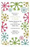 Snowflake Shine Invitation