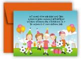 Soccer Team Invitation