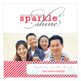 May Your Holidays Sparkle and Shine Photo Card