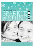 Sparkle and Shine Photo Card