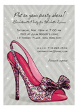 Sparkle Party Pump Invitation
