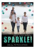 Sparkling Confetti Photo Card