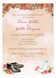 Special Wedding Shoes Fall Invitation