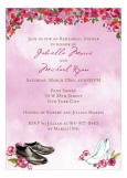 Special Wedding Shoes Winter Invitation