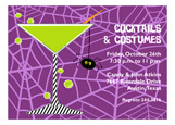 Spider Cocktail Invitation