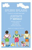 Splish Splash Boys Invitation