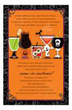Spooky Spirits Invitation
