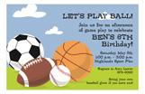 Sporty Invitation