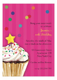 Sprinkles and Confetti - Pink Invitation