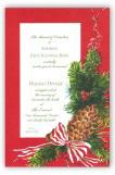 Spruce Cone Invitation