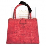 Crocodile Bag (Red) Invitation