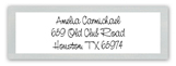 Stack Em High Grey Rectangular Sticker