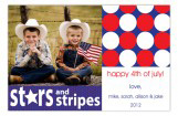 Stars And Stripes Photo Card