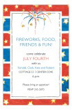 Stars, Stripes and Fireworks Invitation