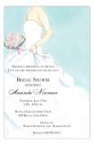 Strapless Side Bride Invitation