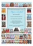 Stylish Shoe Closet - Engagement Invitation