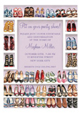 Stylish Shoe Closet Invitation