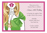 Stylish Surprise - Blonde Invitation