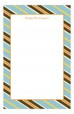 Subtle Stripes Notepad