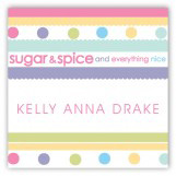 Sugar and Spice Gift Tag