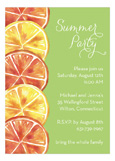 Summer Party Citrus Invitation