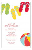 Summer Flip Flops Invitation