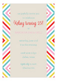 Summer Graphic Invitation
