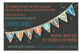 Surprise Party Banner Invitation