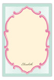 Sweet Beginnings Flat Note Card