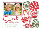 Sweet Holidays Photo Card
