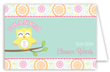 Sweet Owl Folded Note Card