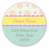 Sweet Owl Round Sticker