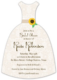 Sweet Sunflower Invitation